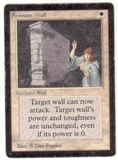 Magic the Gathering Beta Single Animate Wall - MODERATE PLAY (MP)