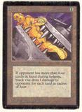 Magic the Gathering Beta Single Black Vise - MODERATE PLAY (MP)
