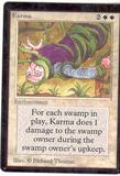Magic the Gathering Beta Single Karma - SLIGHT PLAY (SP)