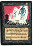 Magic the Gathering Beta Single Animate Dead - SLIGHT PLAY (SP)