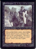 Magic the Gathering Beta Single Black Knight UNPLAYED (NM/MT)