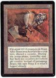 Magic the Gathering Beta Single Clockwork Beast - SLIGHT PLAY (SP)
