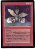 Magic the Gathering Beta Single Dragon Whelp - NEAR MINT (NM)