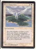 Magic the Gathering Beta Single Island Sanctuary - NEAR MINT minus (NM-)