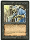 Magic the Gathering Beta Single Lich - MODERATE PLAY (MP)