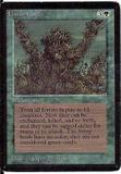 Magic the Gathering Beta Single Living Lands - MODERATE PLAY (MP)