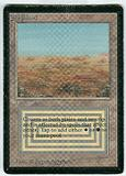 Magic the Gathering Beta Single Scrubland - MODERATE PLAY (MP)