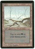 Magic the Gathering Beta Single Swamp (Ver 2) - MODERATE PLAY (MP)