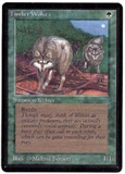 Magic the Gathering Beta Single Timber Wolves - NEAR MINT (NM)