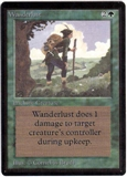Magic the Gathering Beta Single Wanderlust LIGHT PLAY (NM)