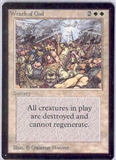 Magic the Gathering Beta Single Wrath of God UNPLAYED (NM/MT)