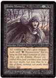 Magic the Gathering Beta Single Zombie Master - SLIGHT PLAY (SP)
