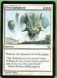 Magic the Gathering Betrayers of Kami Single Final Judgment UNPLAYED (NM/MT)