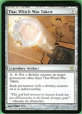Magic the Gathering Betrayers of Kami Single That Which Was Taken UNPLAYED (NM/MT)