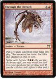 Magic the Gathering Champs of Kamigawa Single Through the Breach - NEAR MINT (NM)
