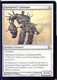 Magic the Gathering Darksteel Single Darksteel Colossus - SLIGHT PLAY (SP)