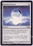 Magic the Gathering Mirrodin Single Damping Matrix - NEAR MINT (NM)