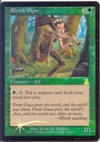 Magic the Gathering Urza's Destiny Single Elvish Piper Foil - SLIGHT PLAY (SP)