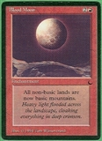 Magic the Gathering Dark Single Blood Moon - SLIGHT PLAY (SP)