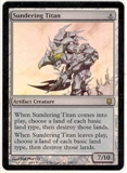 Magic the Gathering Darksteel Single Sundering Titan FOIL