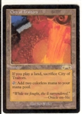Magic the Gathering Exodus Single City of Traitors - SLIGHT PLAY (SP)