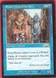 Magic the Gathering Exodus Single Ertai, Wizard Adept - SLIGHT PLAY (SP)
