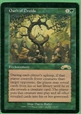 Magic the Gathering Exodus Single Oath of Druids MODERATE PLAY (VG/EX)