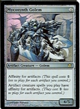 Magic the Gathering Fifth Dawn Single Mycosynth Golem Foil