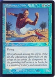 Magic the Gathering 7th Edition Single Mahamoti Djinn Foil