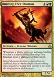 Magic the Gathering Guildpact Single Burning-Tree Shaman - NEAR MINT (NM)