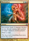 Magic the Gathering Guildpact Single Electrolyze UNPLAYED (NM/MT)