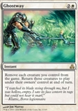 Magic the Gathering Guildpact Single Ghostway UNPLAYED (NM/MT)