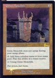 Magic the Gathering Urza's Legacy Single Grim Monolith FOIL