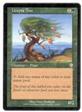 Magic the Gathering Invasion Single Utopia Tree - NEAR MINT (NM)