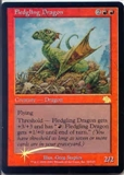 Magic the Gathering Judgment Single Fledgling Dragon Foil