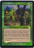 Magic the Gathering Judgment Single Living Wish Foil