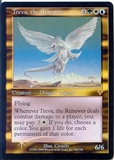 Magic the Gathering Invasion Single Treva, the Renewer FOIL