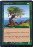 Magic the Gathering Invasion Single Utopia Tree FOIL