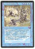 Magic the Gathering Legends Single Invoke Prejudice - SLIGHT PLAY (SP)