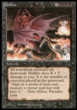 Magic the Gathering Legends Single Hellfire - NEAR MINT (NM)