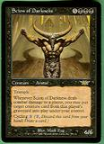 Magic the Gathering Legions Single Scion of Darkness - SLIGHT PLAY (SP)