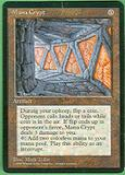 Magic the Gathering Promo Single Mana Crypt MODERATE PLAY (MP)