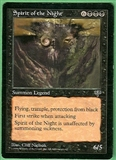 Magic the Gathering Mirage Single Spirit of the Night LIGHT PLAY (NM)