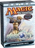 Magic the Gathering Mirrodin Little Bashers Precon Theme Deck