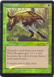 Magic the Gathering Odyssey Single Wild Mongrel Foil