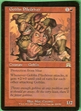 Magic the Gathering Onslaught Single Goblin Piledriver SLIGHT PLAY (SP)