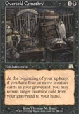 Magic the Gathering Onslaught Single Oversold Cemetery - SLIGHT PLAY (SP)