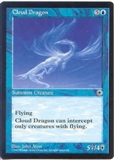 Magic the Gathering Portal 1 Single Cloud Dragon UNPLAYED (NM/MT)