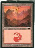 Magic the Gathering Promotional Single GURU Mountain - SLIGHT PLAY (SP)