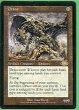 Magic the Gathering Planeshift Single Draco SLIGHT PLAY (SP)